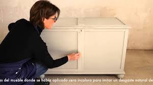 Diy Transfer Mueble Paso A Paso Renovar Mueble Con Chalk Paint Youtube