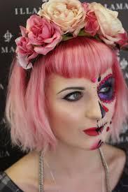 halloween make up tutorials sugarskull and skull honeypop kisses