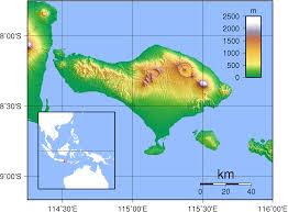 Bali Indonesia Map Bali Topography U2022 Mapsof Net