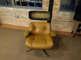 restoration of a 1980 u0027s eames style plycraft lounge chair album