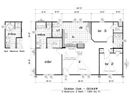 Floor Plans For Mobile Homes by Floor Plans For New Homes