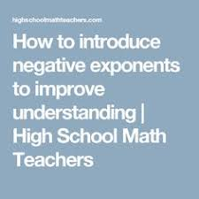 customizable and printable negative exponents worksheet math