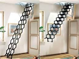 pull down stairs for our loft stairs with a couple enclosed ones