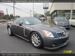 cadillac xlr platinum gray flannel 2009 cadillac xlr platinum roadster
