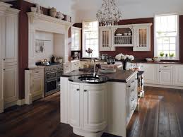 Island Kitchen Hoods by Designing A Traditional Kitchen With Cabinet And Island Also