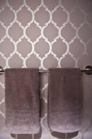 bathroom stencil ideas stencil moroccan bathroom more bathroom