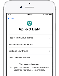 icloud backup for android move from android to iphone or ipod touch apple support