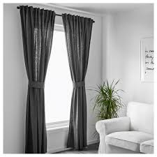 Ikea Beaded Curtain by Ikea Janette Curtains Gray Decorate The House With Beautiful