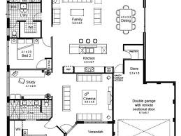 One Story House Plans With 4 Bedrooms 4 Bedroom One Story House Plans House Plans