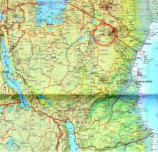 Map Of Tanzania Africa where is tanzania united republic of tanzania maps u2022 mapsof net