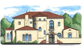 Spanish Home Plans Spanish Colonial Revival House Plans Escortsea