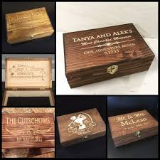 engraved memory box 48 best engraved rustic keepsake boxes images on
