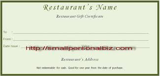 discount restaurant gift cards restaurant gift certificate template free microsoft word