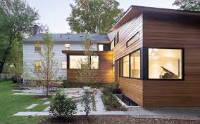Modern Budget Deck This Wellesley Home Addition Is Super Sleek Yet Budget Savvy The