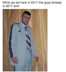 Suit Meme - adidas blazer living in 3017 know your meme