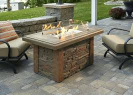 gas log fire pit table linear fire pit table napoleon gas fire pit round table linear