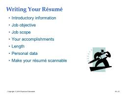 human resources objective for resume human resource management human resources management 12e gary
