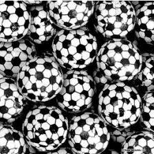 buy thompson foiled chocolate soccer balls 10lb in bulk