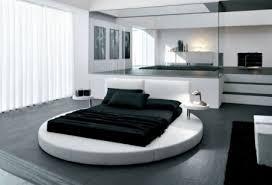 decoration chambre avec lit rond visuel 4