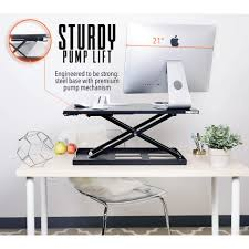 simple standing desk converter x elite pro standing desk converter sit stand steady ssud28bl 832 jpg v 1525449464