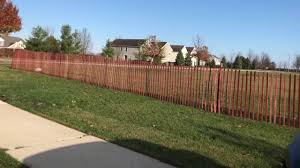 wood snow fence installation youtube