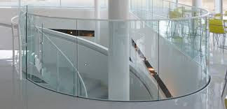 Curved Handrail Glass Railing Systems For Your Home Pool Balcony And Stairs