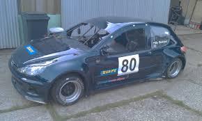 peugeot fastest car peugeot 206 silhouette race car