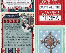 Love Anchors The Soul Print - lds missionary care package kits ideas missionary box moms