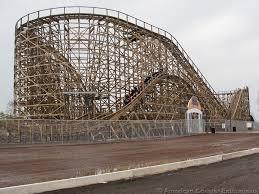 El Toro Roller Coaster Six Flags Roller Coaster Compilation