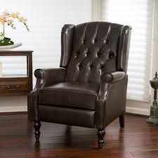 Wing Recliner Chair Furniture Wing Back Recliner Lane High Leg Recliner Wide