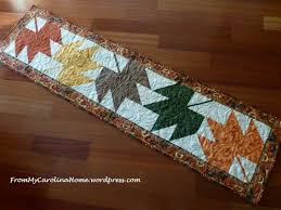 Leaf Table Runner Maple Leaf Table Runner From My Carolina Home
