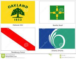 Portland City Flag Usa City Flags Set Stock Vector Image Of Portland America 21543329