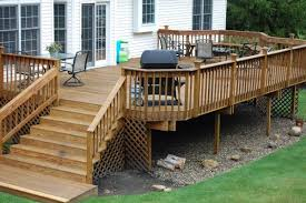 Backyard Decks Ideas Fascinating Backyard Deck Designs Ideas For Patio Space Timber