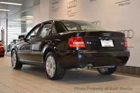 2001 audi a4 1 8t 2001 audi a4 sedan for sale 129 used cars from 1 739