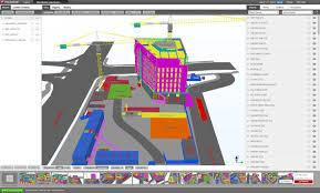 Construction Plans Online by Construction Management Software Tekla