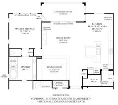 great room floor plans creek at vista ranch the brookshire elite home design