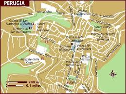 map of perugia map of perugia