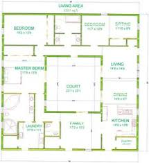 collections of house plans with center courtyard free home