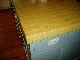 bamboo end grain butcher block wood countertop brooks custom