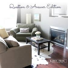 what is the right interior white karen fron interior design