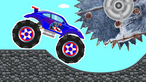 monster truck youtube videos monster truck u2013 car repairs u0026 cool car track u2013 kids truck u2013 car