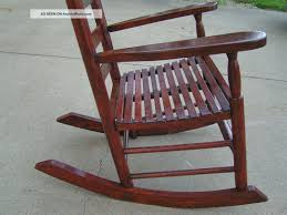 White Slat Rocking Chair by Furniture Nice Antique Mahogany Folding Rocking Chair With