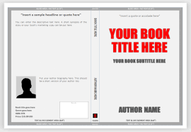 Microsoft Word Templates For Book Covers | book cover template word etame mibawa co