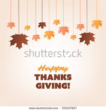 happy thanksgiving card design stock vector 164016065