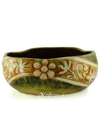 ekolhapuri handmade urli bowl ajanta flower terracotta idols and