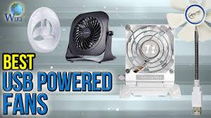 usb powered car fan 10 best usb powered fans 2017 youtube