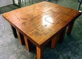 Table Jigsaw Jigsaw Puzzle Coffee Table Rascalartsnyc