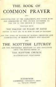 the scottish book of common prayer 1912