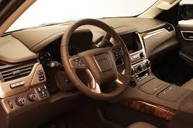 gmc yukon interior 2016 2015 gmc yukon vs 2014 gmc yukon styling showdown truck trend