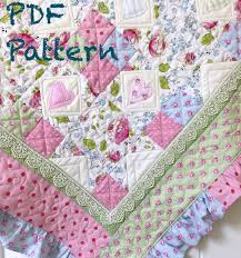 ruffle baby quilt pattern baby quilt patterns quilt